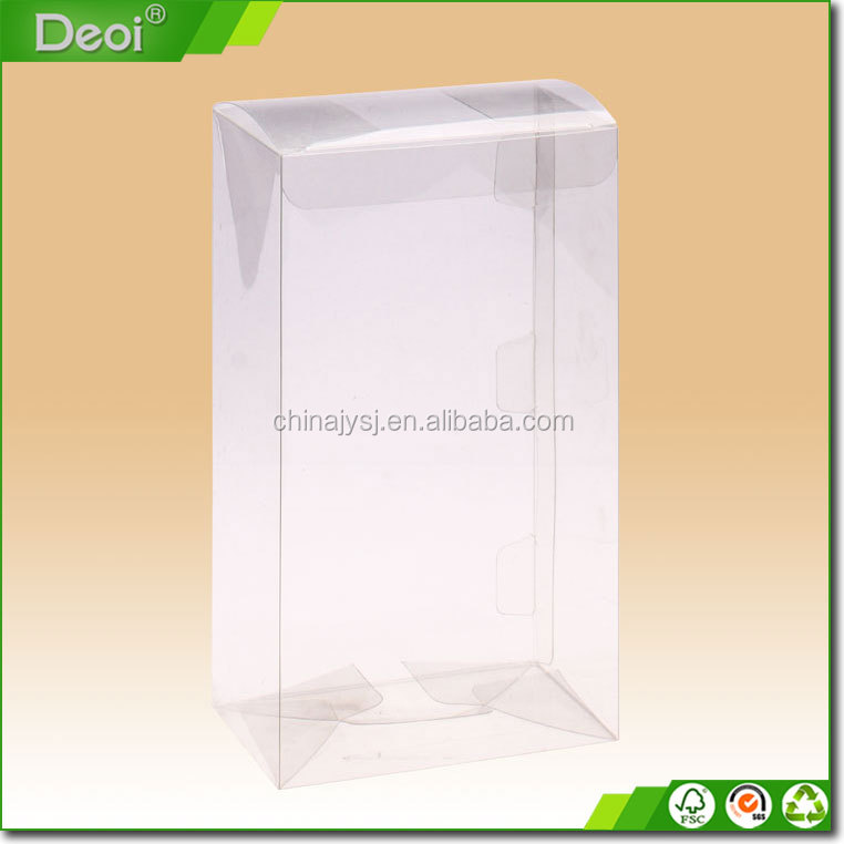 Factory direct transparent plastic packaging box for cell phone case