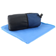 ultra soft high absorbent quick dry mesh bag packed microfiber suede sports gym golf towel with zipper pocker and hanger