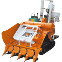 Best Quality Used Of Mini Rice Wheat Grain Harvester For Sale From China