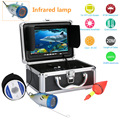 "7"" Inch 1000tvl Underwater Fishing Video Camera Kit 12 PCS LED Infrared Lamp Lights Video Fish Finder Lake Under Water fish cam"