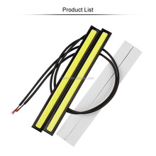 17CM LED COB DRL Daytime Running Lights Waterproof External Car Styling Car Parking Fog Bar Turn Signal Lamps Accessories