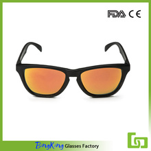 Chinese homemade outdoor custom wooden bamboo men cycling sunglasses