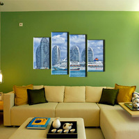 Modern Promotional Picture Art Nature Beautiful Scenery Wall Painting For Home Decoration