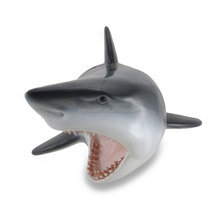 Resin Wall Sculptures Great White Shark Head Wall Mount