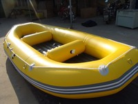 4.5m Inflatable river rafting boat water raft ce fishing boat drifting boat