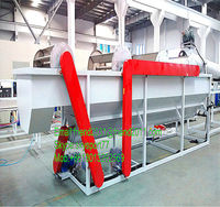 pp pe woven bag recycling washing machinery