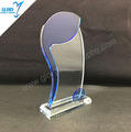 Wholesale South Africa blue crystal trophy Award