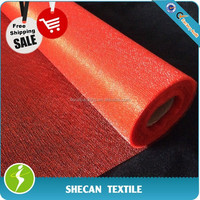 Red organza fabric 70cm*5m for wedding decoration