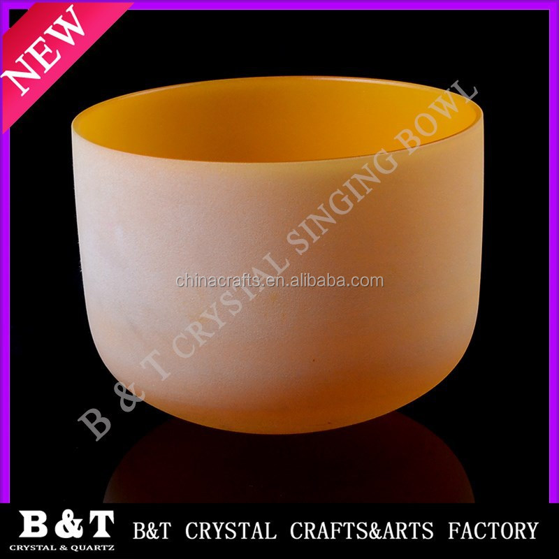 C root Quartz Crystal Handmade 8'' Red Perfect Healing Musical Instrument Singing bowls