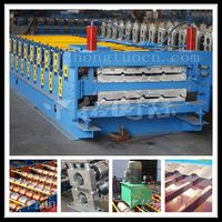 nigeria market double deck roll forming machine ,sheet metal folding machines