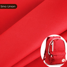classic red color PVC coated 600D polyester waterproof bag fabric