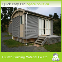 Waterproof Pressure-proof Modular Plastic Timber Decoration Homes