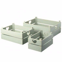 Home & Garden Wooden 3PCS Storage Boxes ,Packaging Boxes