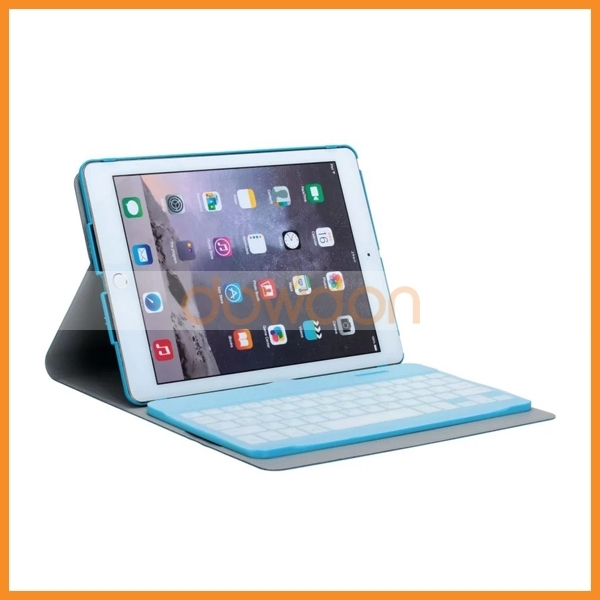 3 In 1 Leather Versatile Bluetooth Keyboard Protective Case for iPad Air 5