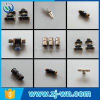 WN-5003A pneumatic component push to connect fitting one touch fitting pneumatic air hose fitting brass