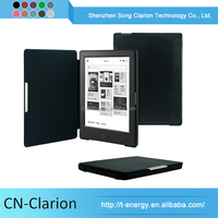 Auto Wake Sleep Funtion Pu Leather Case For Kobo Aura 6 Inch Ereader Cases 6-Inch-Leather-Case
