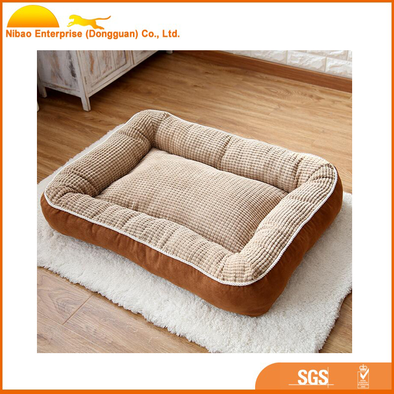 luxury new soft large dog bed for pet product