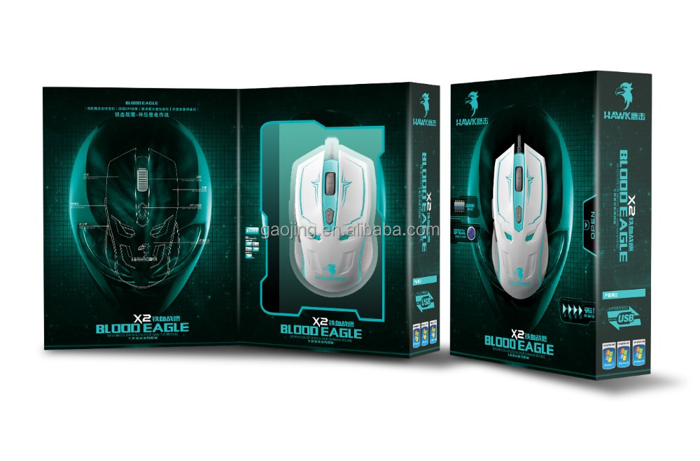 Best-Selling Braided Wired Custom Gaming Mouse