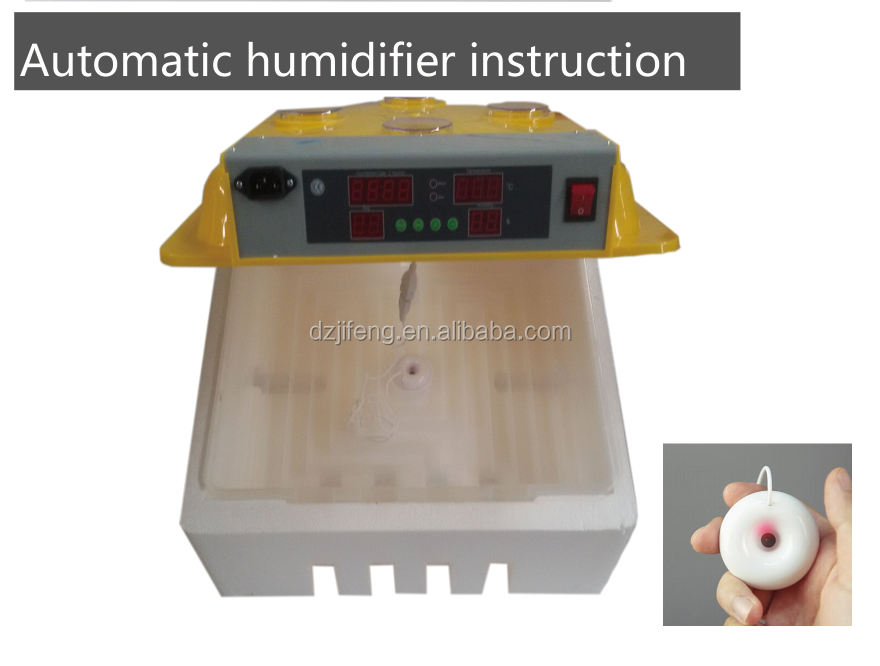 hot selling full automatic humidifier incubator for hatching eggs