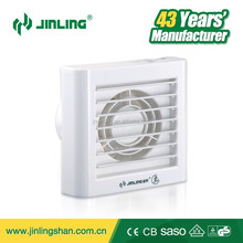 4''/6'' CB/CE Window/wall mounting mini exhaust ventilation fan electrical front shutter