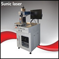 Laser marking machine with fiber laser source