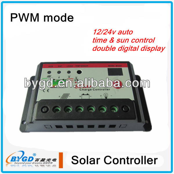 pwm solar panel controller scrolling system controller (SC3024S)