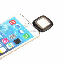 Factory wholesale Mini 16 LED Night Using Selfie Enhancing Dimmable Flash Led Light Smartphone
