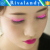 Party creation new design shinning sound interactive glue led eye lashes