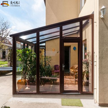 Prefab Waterproof Aluminum Winter Garden