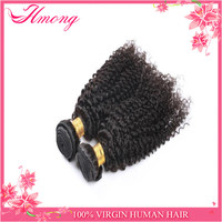 New fashion style! Hot sell natural human brazilian two tone color kinky curly ombre wig