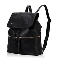 Fashion PU Woman Flap Backpack Daily School backpack bags