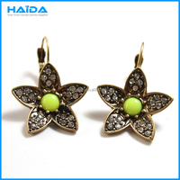 Factory wholesale fashion clip on earrings, no hole earring jewelry