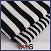cotton yarn dyed feeder stripe knitted fabric