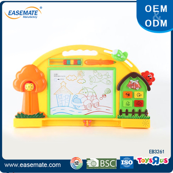 Creative toy kids erasable magnetic magic drawing board for sale