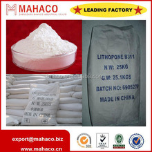 B301,B311 Lithopone powder for coating,painting,pigment