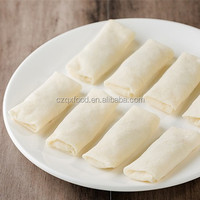 Kosher Certificate 100 % handmade frozen food of spring rolls with Best quality and competitive price