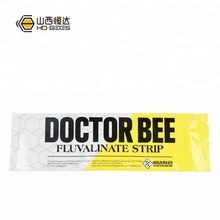 10 Strips HD Manpu Doctor Bee Varroa Mites Killer Fluvalinate Strip