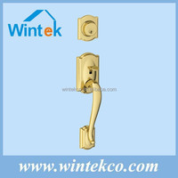 Luxury door handle schlage