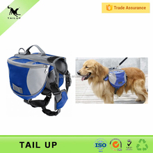 2016 Puppy Saddle Bag Pet Dogs Backpack Travel Hiking Harness Pack Carrier Traveling Carrying Bag