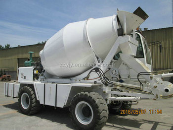 Hot Sale Yellow white yellow red 8 cubic meters 2.5 cbm self loading mixer truck
