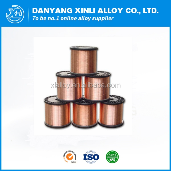 High quality manganese copper alloy manganin wire 6J13