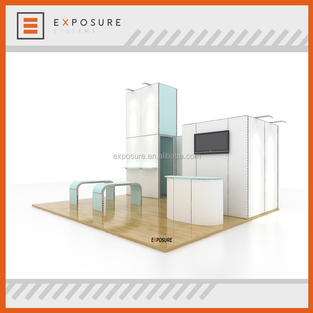 20x20ft trade show booth exhibition display