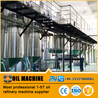 Small Business Machines New Cooking Oil Refining Process Best Small Oil Refinery and Edible Oil Refinery for Sale