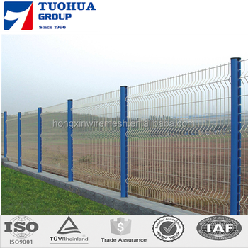 Durable Triangle Bending Welded Wire Mesh Fencing