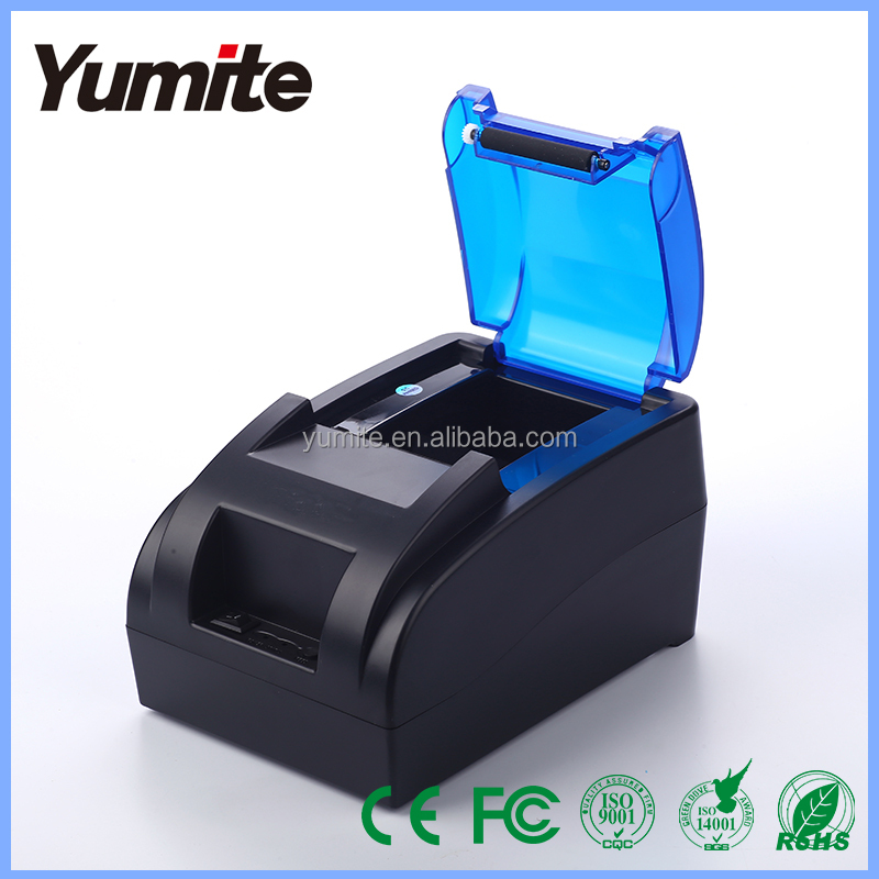 Thermal printer, 58MM Thermal Receipt Printer with USB/Bluetooth interface