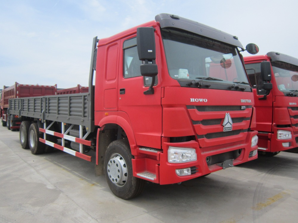 2016 Hot Sale Sinotruk Howo 6*4 Cargo Truck 336hp ZZ1257N4647 for 20-30 tons
