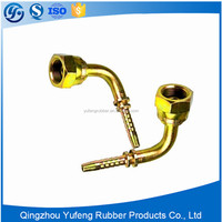 Best price 90 degree elbow brass fitting with O-ring seal