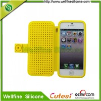 Softness silicone mobile phone cover for iPhone5""