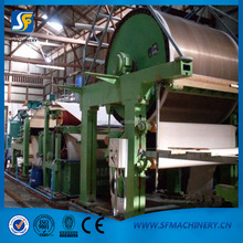 High speed kraft paper roll making machine equipment production line