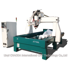 4 axis 3d sign making machinery with rotary axis for carving foam wood